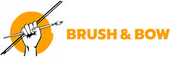 Brush and Bow Logo